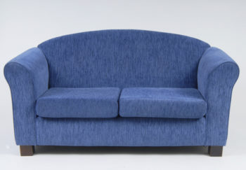 2 Seat Sofa (Basic Plus) blue in colour