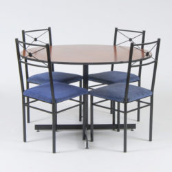 Round dining table will include 6 chairs