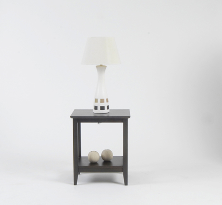 Academy Appliance Rentals - lamp shade on a lamp table