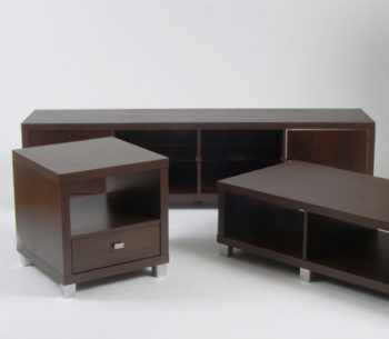 Living Room Furniture (Chocolate)