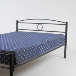 Queen size bed bare