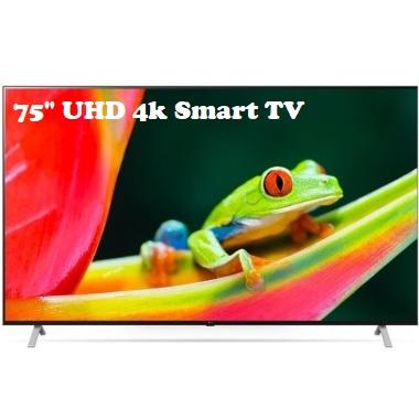 75″ Ultra High Definition – 4K Smart TV
